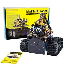 Keyestudio Coding Tank Robot Robotics Car Starter Kit For Arduino Set For Kids