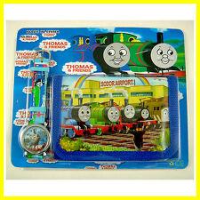 Thomas Tank Engine Children's Watch Wallet Kids Boys Girls Christmas + GIFT