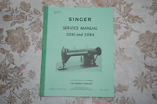 Professional Service Manual on CD for Singer 331K1 and 331K4 Sewing Machines.