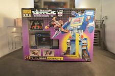 2007 Transformers Japanese Encore 03 Soundwave and Laserbeak Takara Tomy
