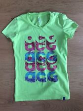 Damen Nike T-Shirt Gr. 36 / 38 grün Fit Dry