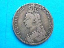1889 Victoria silver crown