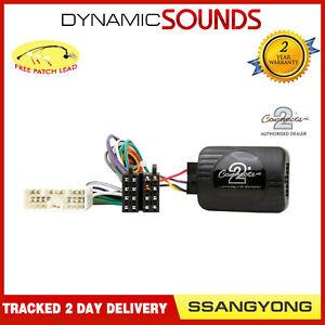 CTSSY001.2 Contrôle Volant Adaptateur Câble pour Ssangyong Korando Sport