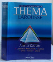 2000 Encyclopedia Larousse Thema Artes Y Cultura + Chaqueta Tbe IN4