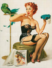 No You Dont Vintage Gil Elvgren Pinup Girl Art Poster 18x24