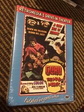 Guru The Mad Monk DVD Andy Milligan Terror 1970 Horror Cult OOP NEW!SEALED Rare