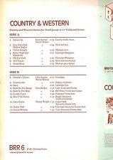 BRUTON LIBRARY.COUNTRY & WESTERN.V/ARTISTS.ORIG UK LP.EX+