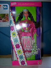 Barbie Native American Third Edition 1994 Dolls of the World NRFB