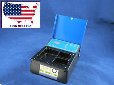 Dental Lab Wax Heater Pot 3 Compartment 110V Digital Heat Waxing DentQ