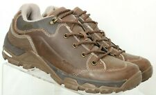 Hi-Tec 53080 Ox Discover Low I Brown Ortholite Hiking Shoes Men's US 9.5 M