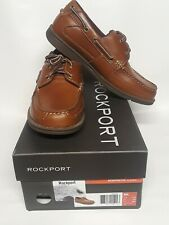 Rockport K62480 ADIPRENE by adidas Boat Shoes Sz 8M. Color: Tan