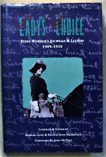 Lady's Choice Ethel Waxham's Journals & Letters 1905-1910 Wyoming History West