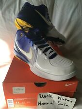 Nike Kobe 2009 Zoom IV 4 Lakers Home Gradient, Size 11, DS