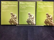 The Great Courses:  The Great Ideas of ...Vol 1&2 by Robinson(2004)2ndDVD180716
