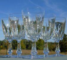 Villeroy et Boch - Service de 6 verres à eau en cristal, modèle Grenoble