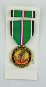 GLOBAL WAR ON TERROR - PROTECTING OUR HOME LAND Commemorative Medal