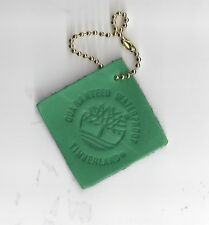 1- Leather Timberland  Celtic Green   Key Chain