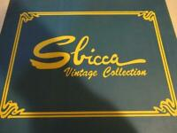 Sbicca Vintage Collection Khaki Palooza Suede Sandal Fringe Size 7 New in Box