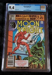 Moon Knight #13 CGC 9.4 w/p 1981 Marvel Comics Doug Moench Story Daredevil App