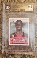 2017 Vinicius Junior Flamengo Rookie RC Real Madrid BGS 9.5 Gem Mint (4550)
