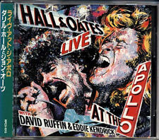 DARYL HALL JOHN OATES Live At The Apollo JAPAN 1st Press CD RPCD1013 3500Yen Obi