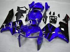 For CBR600RR 05-06 ABS Injection Mold Bodywork Fairing Kit Plastic Black Blue