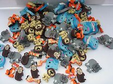 MINI ZOO ANIMAL ERASERS 1''  LOT OF 432 CARNIVALS PARTY TOYS  ASSORTED