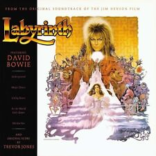 Labyrinth ORIGINAL MOVIE SOUNDTRACK Bowie, Trevor Jones HENSON New Vinyl LP