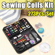 273Pcs/Set Travel Sewing Kit Threads Craft Hand Quilting Stitching Portable Bag
