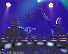 Chase & Status EDM duo REAL hand SIGNED 8x10 Photo #1 Dubstep w/ COA Autographed