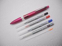 Rose Pink UNI-BALL JETSTREAM + style-fit 0.5mm ballpen 3 refill + pencil + PDA