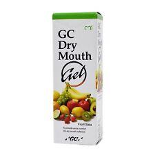 GC Dry Mouth Gel 40g Tube Moisturizing Oral Gel Exp 12/2020 | Fruit Salad 2 PACK
