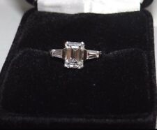 GIA Certified 1.34cts E. VVS2 Engagement Ring