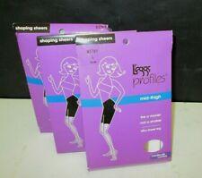 fc83ae8da1 New Lot Of 3 Women s Leggs Profiles Moderate Control Shaping Sheers Pantyhose  L