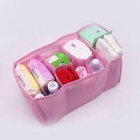 Baby Diaper Water Bottle Changing Divider Storage Organizer Bag New Portable