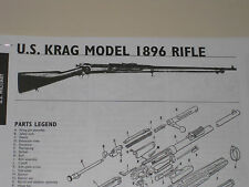 30-40 KRAG RIFLE EXPLODED VIEW