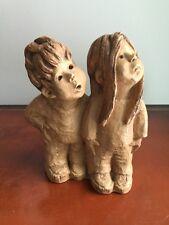 "Vintage Lee Bortin Sculpture ""Please"""