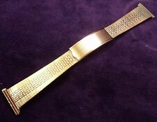 18-19-20-21-22mm Kestenmade 10K RGP Stainless Steel Mesh Deployment Watch Band