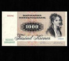 500...1000 Kroner Lots of 2 notes DENMARK Reproductions