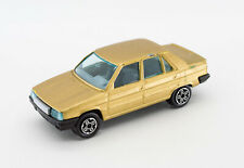 Bburago Burago Renault 9 metalic gold 1/43 made in italy