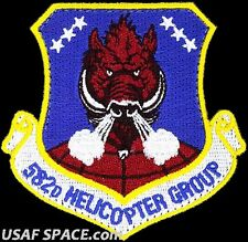 USAF 582nd HELICOPTER GROUP -F.E. Warren AFB, WY- UH/HH-1 - ORIGINAL VEL PATCH