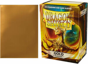 Dragon Shield Sleeves: Classic - Gold (100)