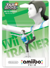 NEW Nintendo 3DS Wii U Amiibo WII FIT TRAINER   (Super Smash Bros. ) JP  F/S
