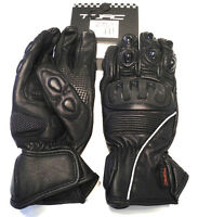 TORC Wilshire TPU Dual Molded Armor Reinforced Soft Leather Motorcycle Gloves