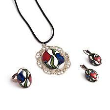 4-piece Jewelry Set (Hand-Crafted in Turkey)