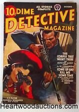 Dime Detective Oct 1941 Cornell Woolrich, D.L. Champion, Norbert Davis, T.T. Fly