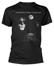 Las Hermanas de la Misericordia 'Floodland' (Negro) T-Shirt-Nuevo Y Oficial!