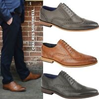 MENS FORMAL SHOES ITALIAN WORK BROGUES WEDDING OFFICE SHOES SIZE 7 8 9 10 11 12