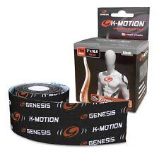 Genesis Bowling K-Motion Tape - Black - Free Shipping!