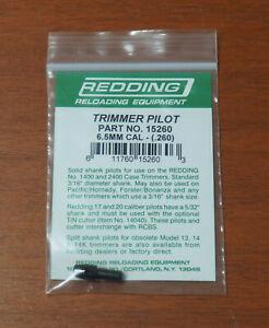 """Redding Trimmer Pilot-6.5mm Caliber (15260) .260"""" Diameter-(NIP)"""